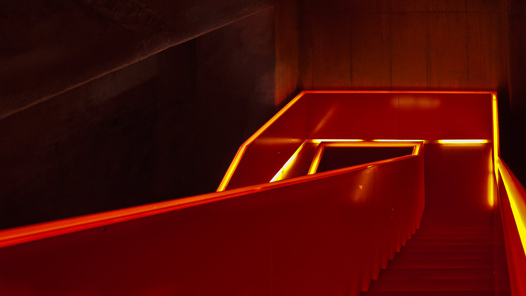illuminated staircase #2